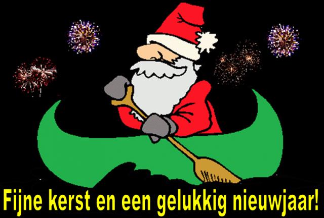 Fijne kerst en een gelukkig nieuwjaar!